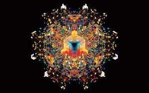 Sacred geometry wallpaper image