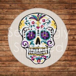 Flower Skull Images Get