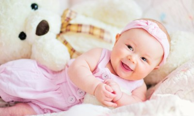 Cute baby teddy bear