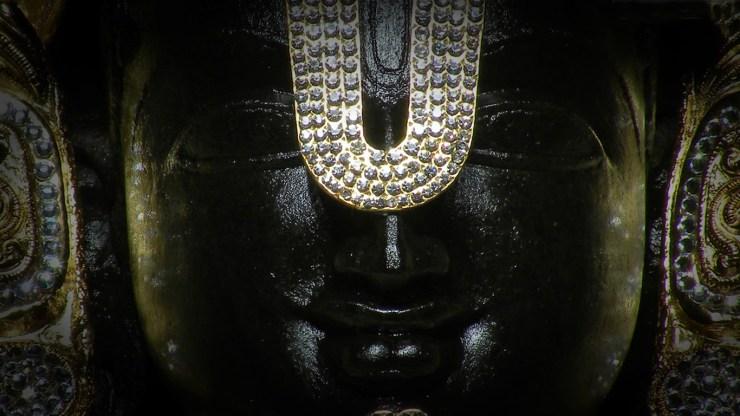 Lord Venkateswara Swamy Face