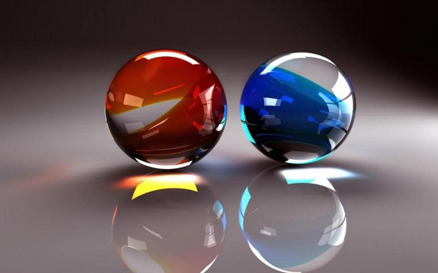 3D balls wallpaper desktop free download