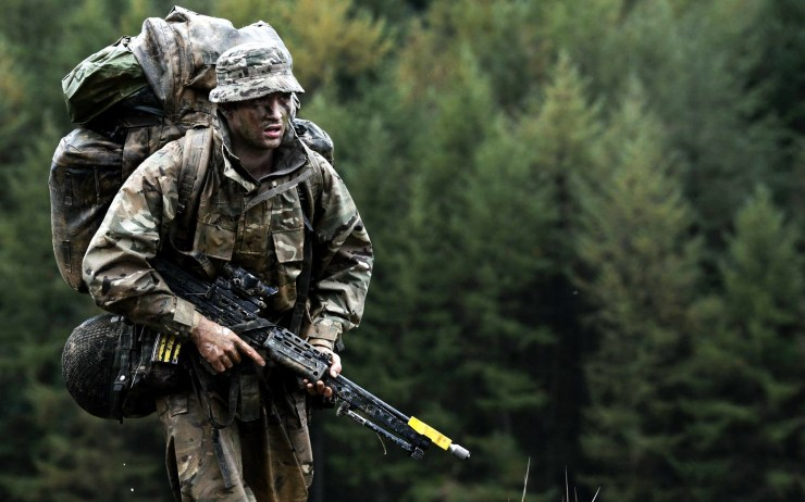 Amazing British Army Wallpaper