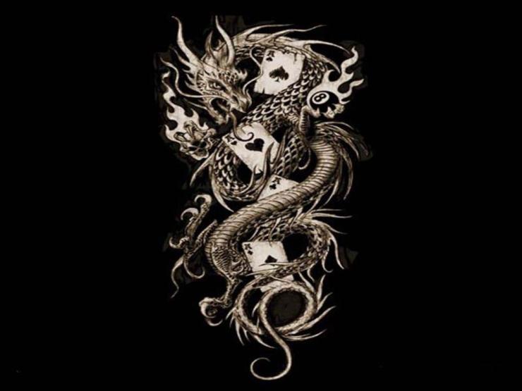 alchemy gothic imperial dragon wallpaper