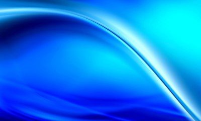 Bright Blue 3D Abstract Wallpaper