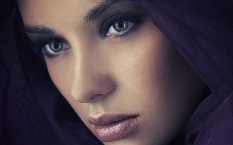 arab girl wallpaper