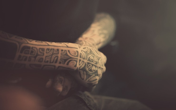 tattoo design on hand wallpaper for pc