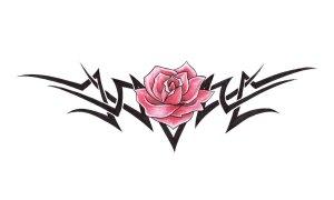 tribal and rose tattoo wallpaper 1080 hd