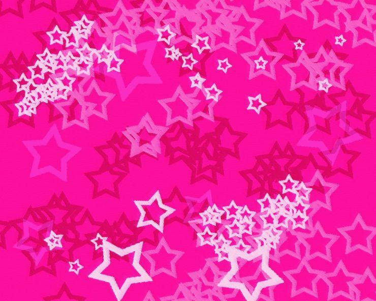 pink star wallpaper