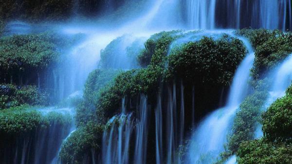 3d waterfall wallpaper for desktop