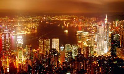 city of life hong kong wallpaper