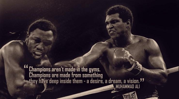 Boxing Quotes Wallpaper
