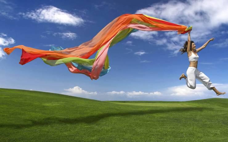 HD Spring scenery wallpaper desktop 2560p