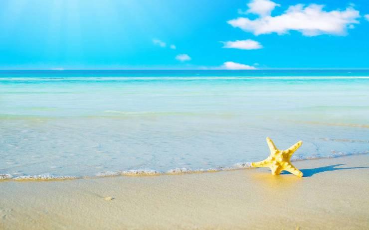 HD Summer beach backdrounds smartphone desktop 1920p