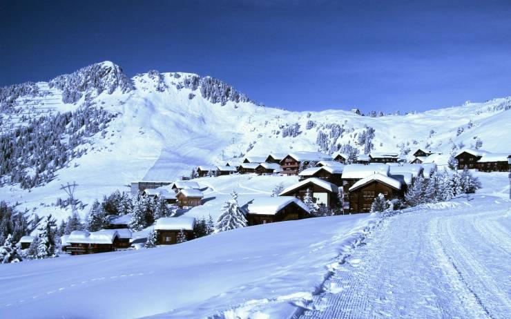 HD Switzerland winter wallpaper android, Pc Desktop 2560p