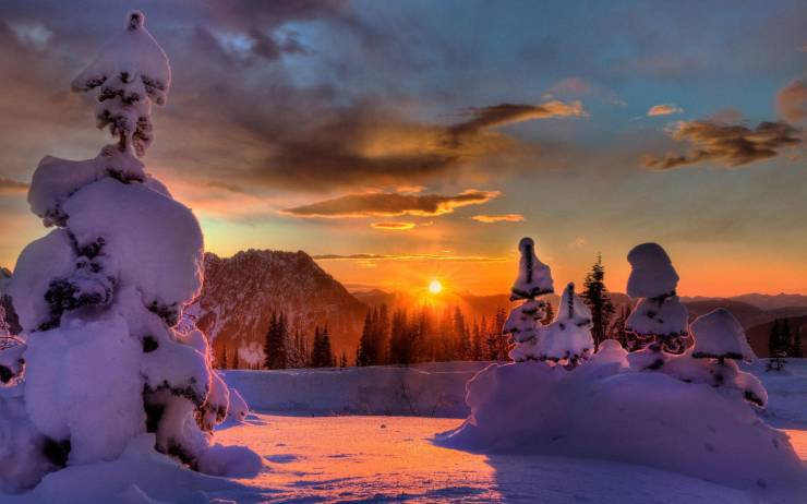 HD Widescreen winter wallpaper android, Pc Desktop 1920p