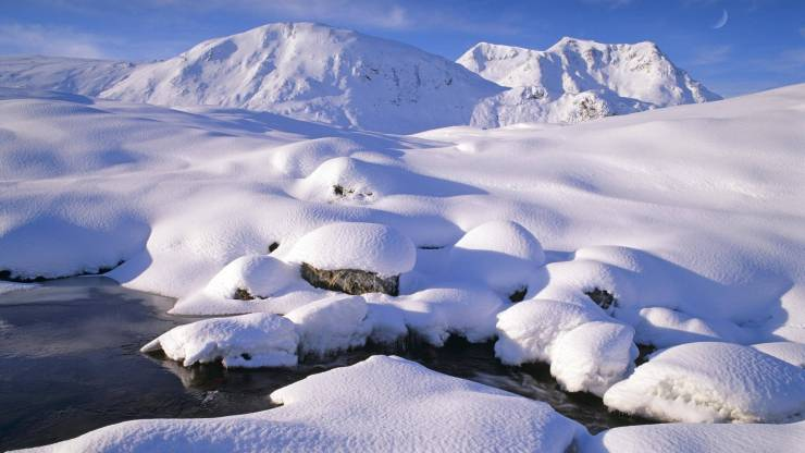 HD Winter landscape wallpaper android, Pc Desktop 1920p