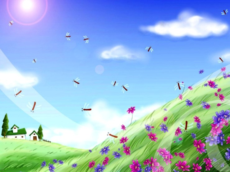 animated spring wallpaper