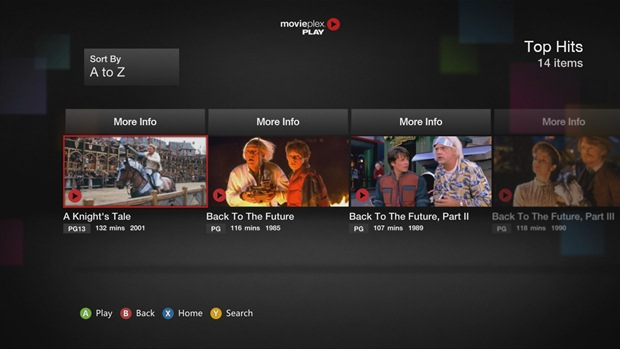 Starzs Encore And MoviePlex Apps Launch For Xbox 360
