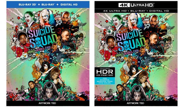 Suicide Squad Blu Ray Amp 4k Ultra HD Blu Ray Available For
