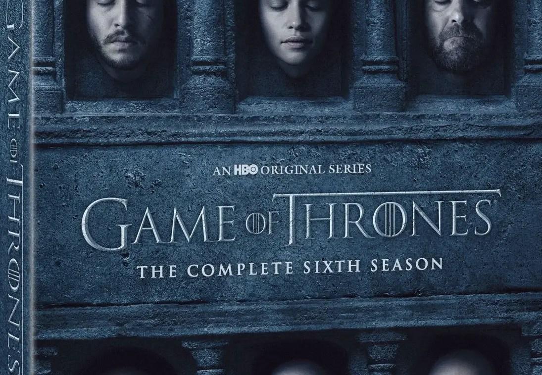 Game Of Thrones Season 6 Blu Ray Release Date Amp Bonus