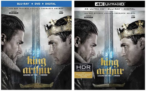 King Arthur Legend Of The Sword Release Dates On Blu Ray