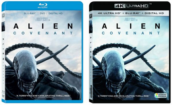 Alien Covenant Blu Ray Amp 4k Blu Ray HD Report