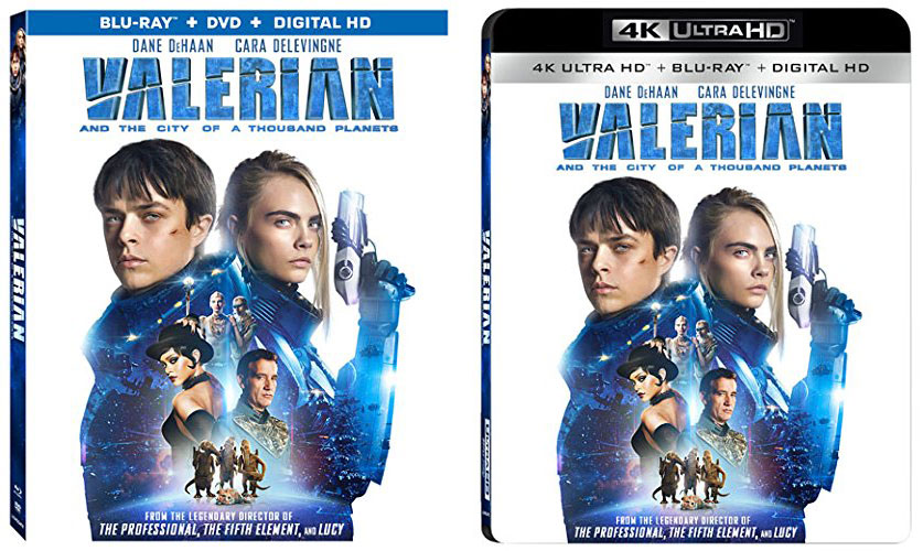 Release Date Amp Pre Orders Up For Valerian On Blu Ray Amp 4k