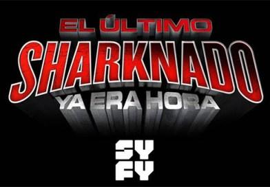 "El Último Sharknado: Ya Era Hora"" – SHARKNADO 6 … Tiburones VS Dinosaurios [Trailer]"