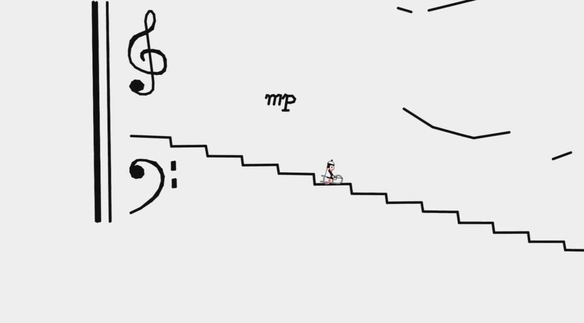 La Danza de los Jinetes Línea al ritmo de Tchaikovsky