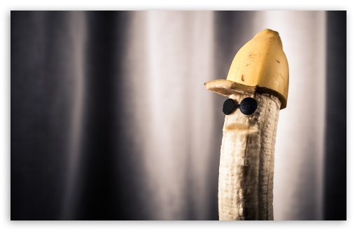 Funny Banana 4K HD Desktop Wallpaper For 4K Ultra HD TV