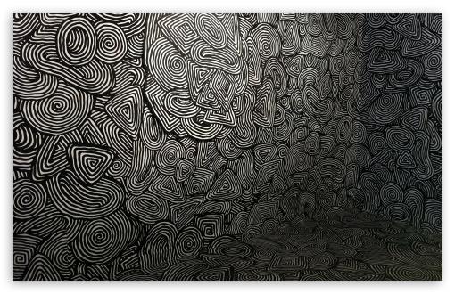 Mind Easer Psychedelic Pattern 4K HD Desktop Wallpaper For