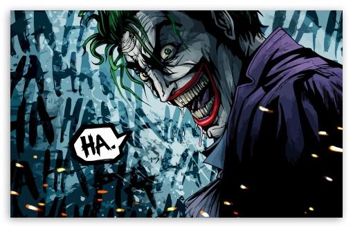 Joker cartoon wallpaper cartoonkaperla the joker ilration 4k hd desktop wallpaper for ultra voltagebd Choice Image