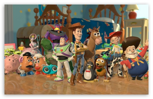 Toy Story 2 Characters HD wallpaper for Wide 16:10 5:3 Widescreen WHXGA WQXGA WUXGA WXGA WGA ; HD 16:9 High Definition WQHD QWXGA 1080p 900p 720p QHD nHD ; Other 3:2 DVGA HVGA HQVGA devices ( Apple PowerBook G4 iPhone 4 3G 3GS iPod Touch ) ; Mobile WVGA iPhone PSP - WVGA WQVGA Smartphone ( HTC Samsung Sony Ericsson LG Vertu MIO ) HVGA Smartphone ( Apple iPhone iPod BlackBerry HTC Samsung Nokia ) Sony PSP Zune HD Zen ;