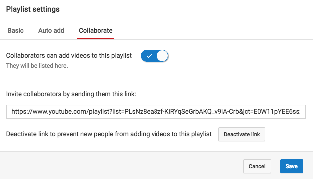YouTube Playlists - How To Create, Share and Collaborate