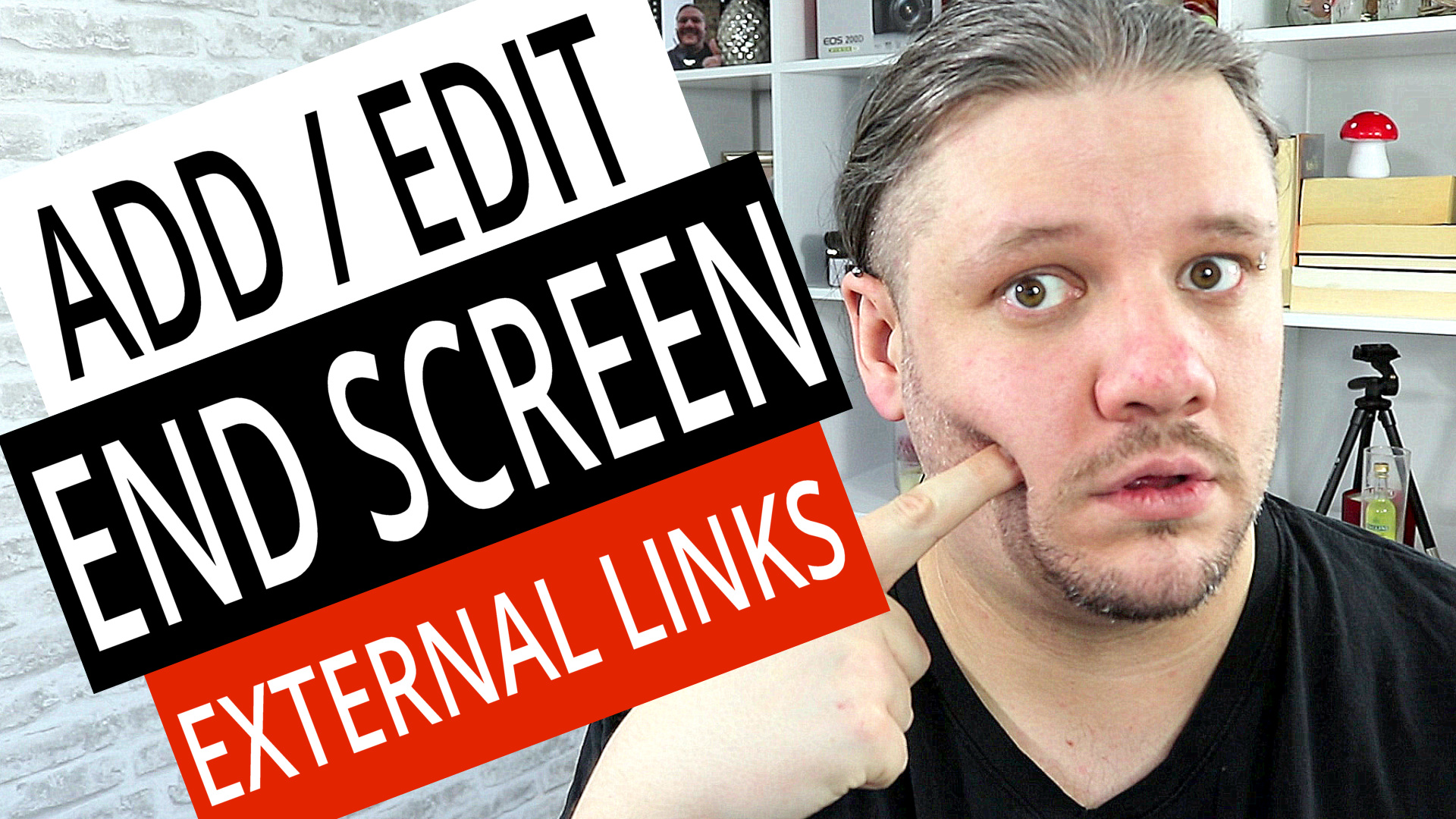 How To Add End Screen on YouTube Videos - External Links Tutorial