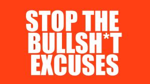 Your Excuses Are Bullsh*t - Why You Should Start A YouTube Channel NOW!, alan spicer,alanspicer,gary vaynerchuk,gary vaynerchuck,your excuses are lies,stop your excuses,no excuses,why you should start a youtube channel,start a youtube channel,why you should start youtube,excuses,youtube excuses,no youtube excusues,rant,youtube rant,how to start a youtube channel,self help,self improvement,youtube motivation,youtube motivation for small youtubers,youtube motivational video,youtube motivational speech