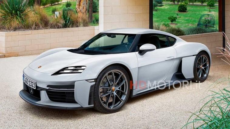 Porsche 718 Cayman elettrica: noi ce la immaginiamo così