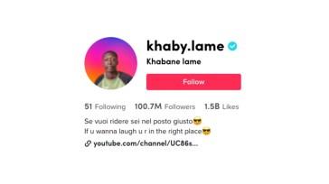 Khaby Lame supera la soglia dei 100 milioni di follower su TikTok