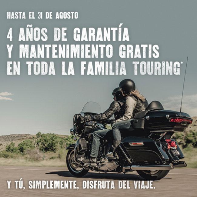 GARANTÍA AMPLIADA EN LA GAMA TOURING