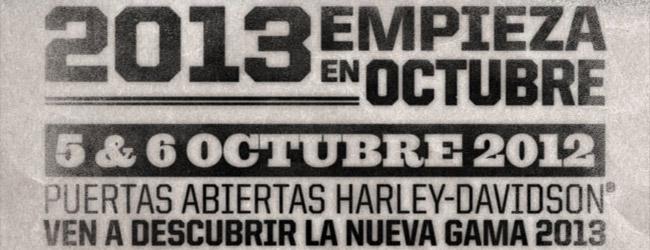 LA GAMA 2013 HARLEY-DAVIDSONⓇ LLEGA A TU CONCESIONARIO