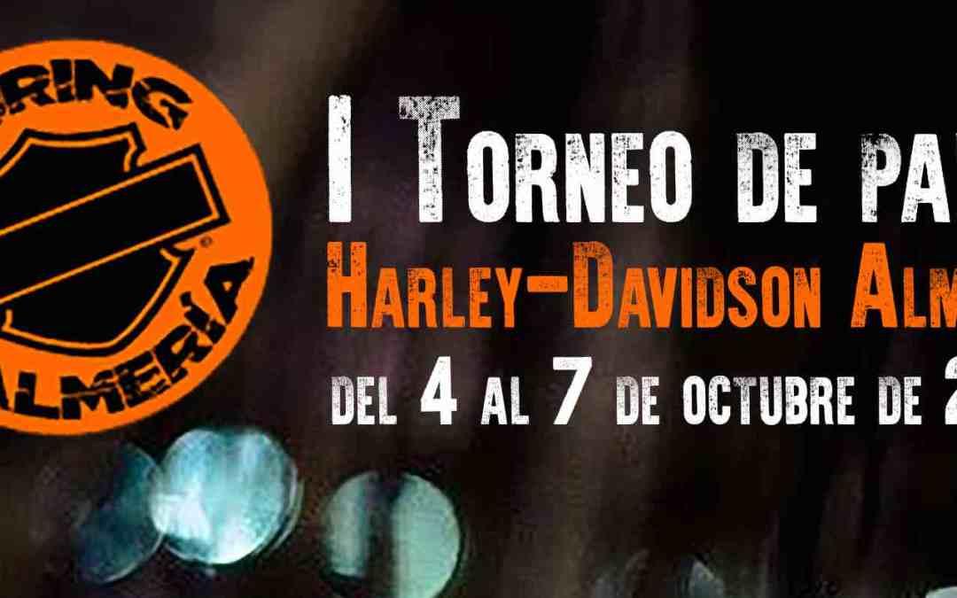 I torneo de padel HARLEY-DAVIDSON Almería