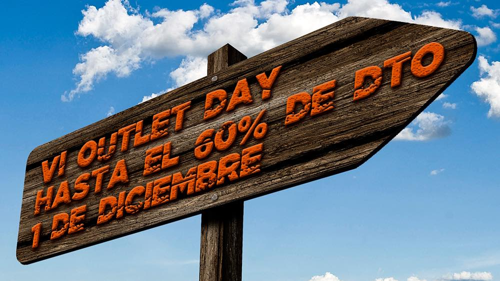 VI Outlet Day: hasta el 60% de descuento