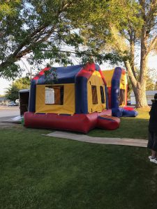 Party Trailer Bouncy House