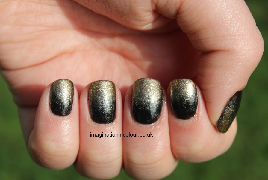 Black And Gold Nails 12 Cool Wallpaper