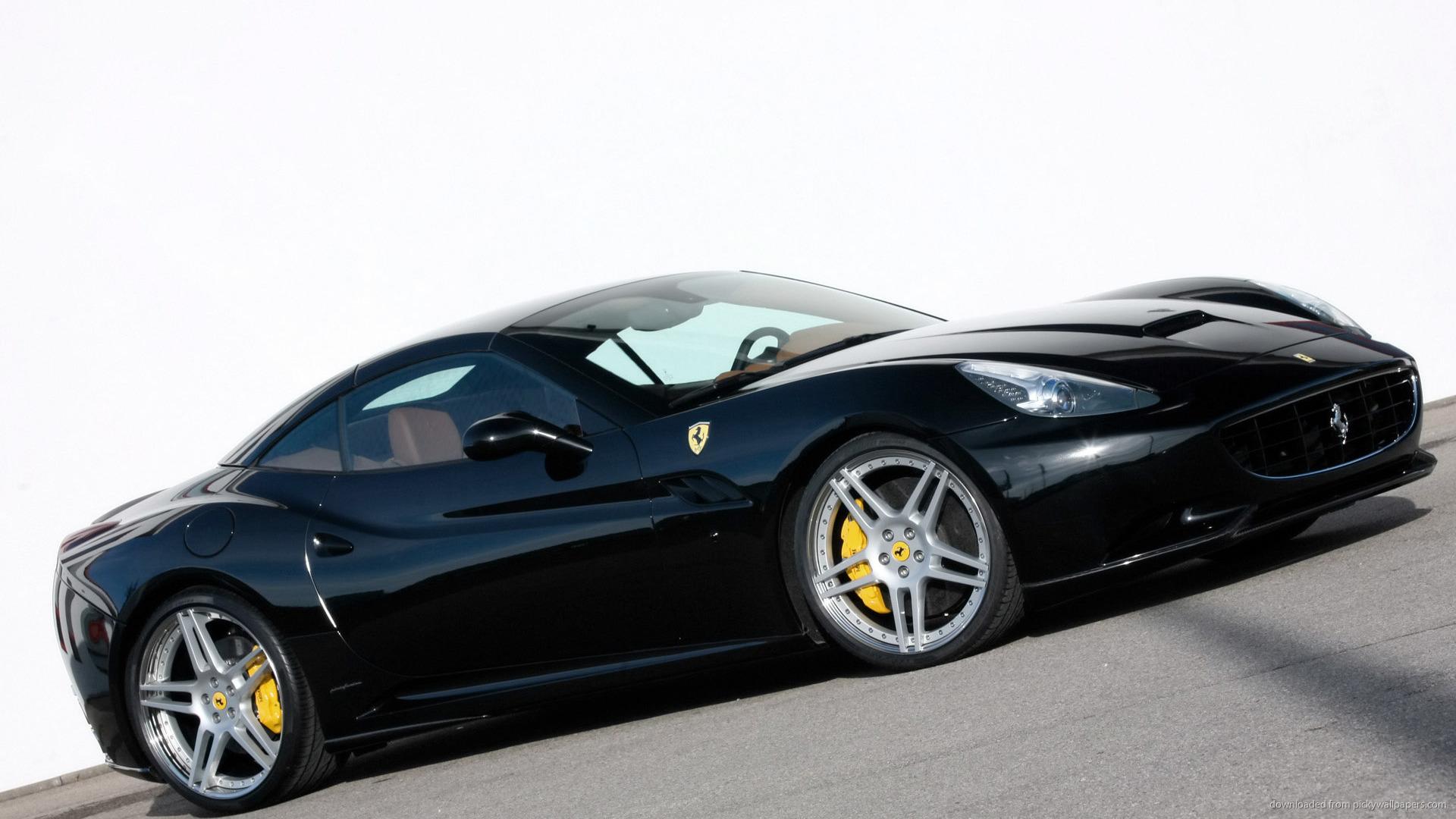 Black Ferrari Wallpaper 2 Desktop Background