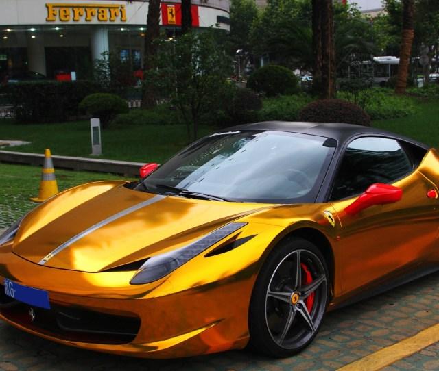 Gold And Black Ferrari Wallpaper  Free Hd Wallpaper