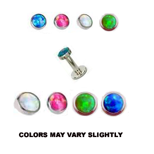 """Straight Barbells 18g And 16g 3//8/""""  With Double Jeweled Mix Of 9 Barbell"""