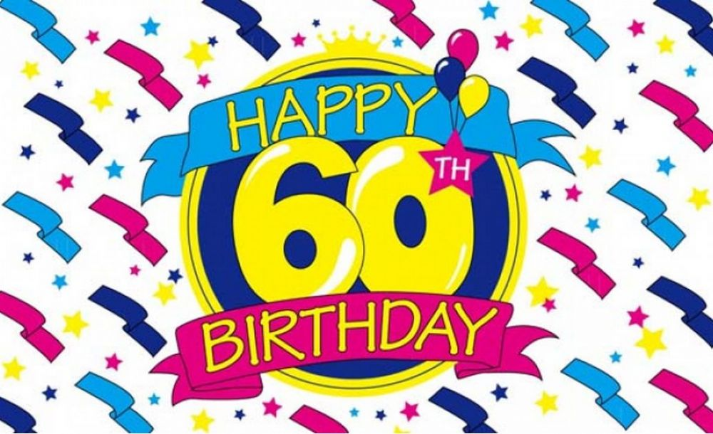 12 60th Birthday Clipart Preview 60th Birthday Cli Hdclipartall