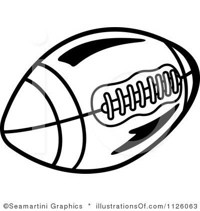 Football Clipart Black And White Football Black And White Clip Art Images Hdclipartall