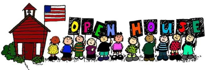 Image result for free school open house clipart